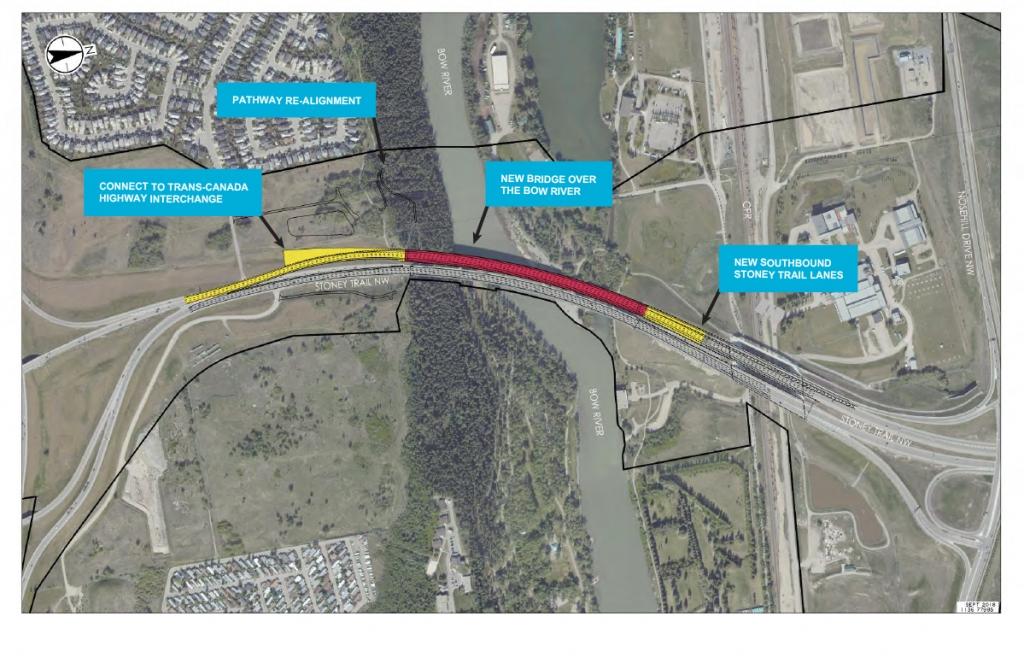 Bow River Bridge twinning plan