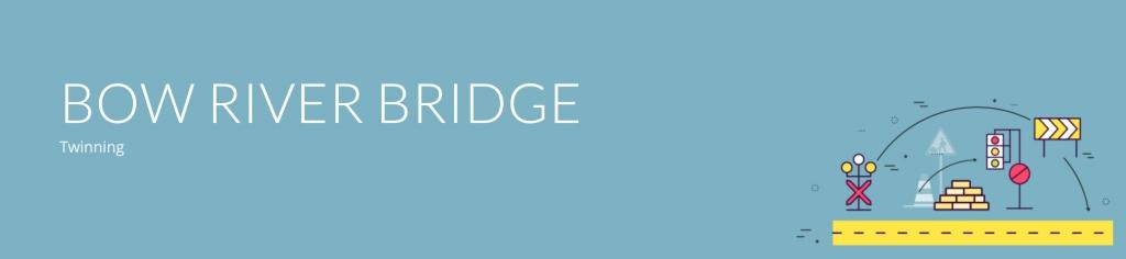 Bow River Bridge title banner