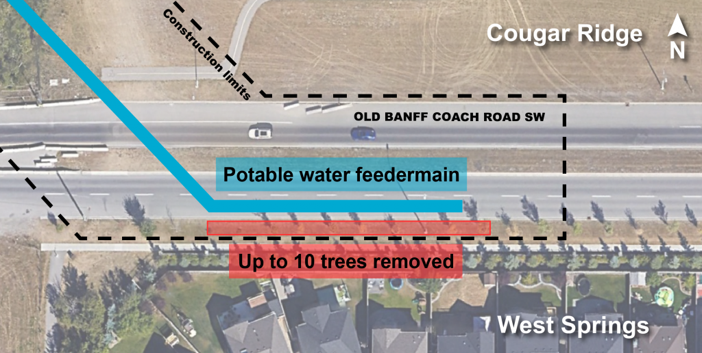 OBCR tree removal map