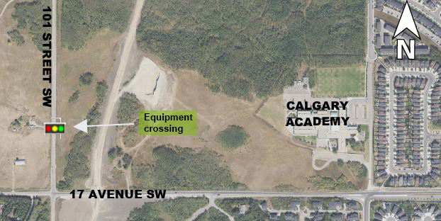 Equipment Crossing - 17 Ave SW