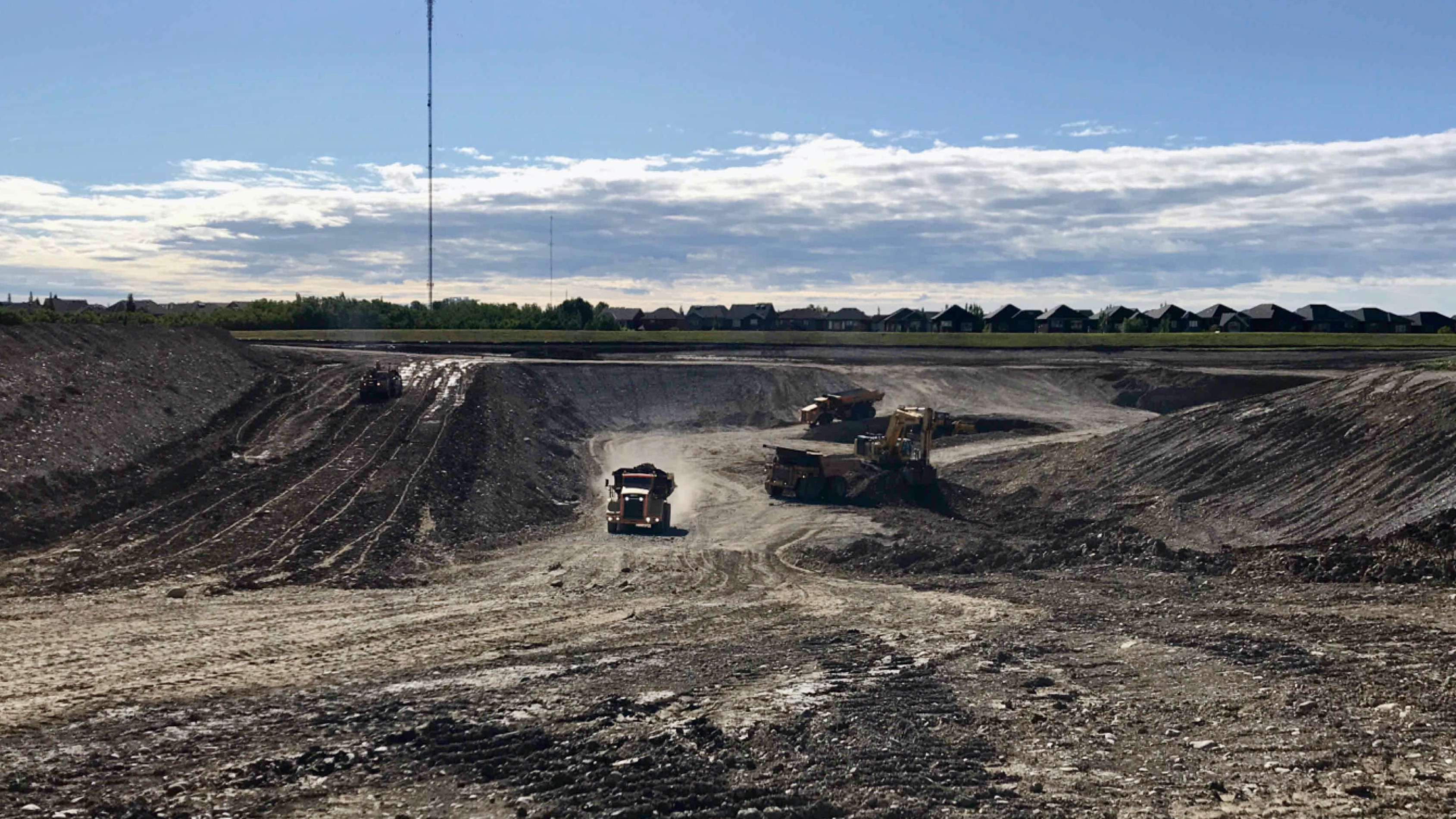 Gravel extraction July 13