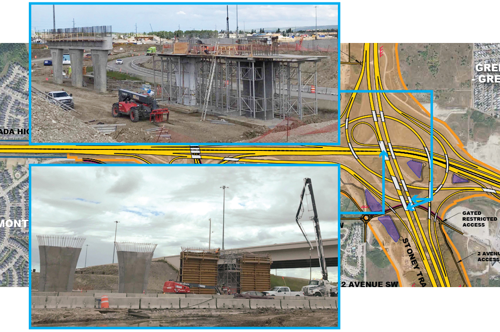 Trans-Canada Highway/Stoney Trail Interchange