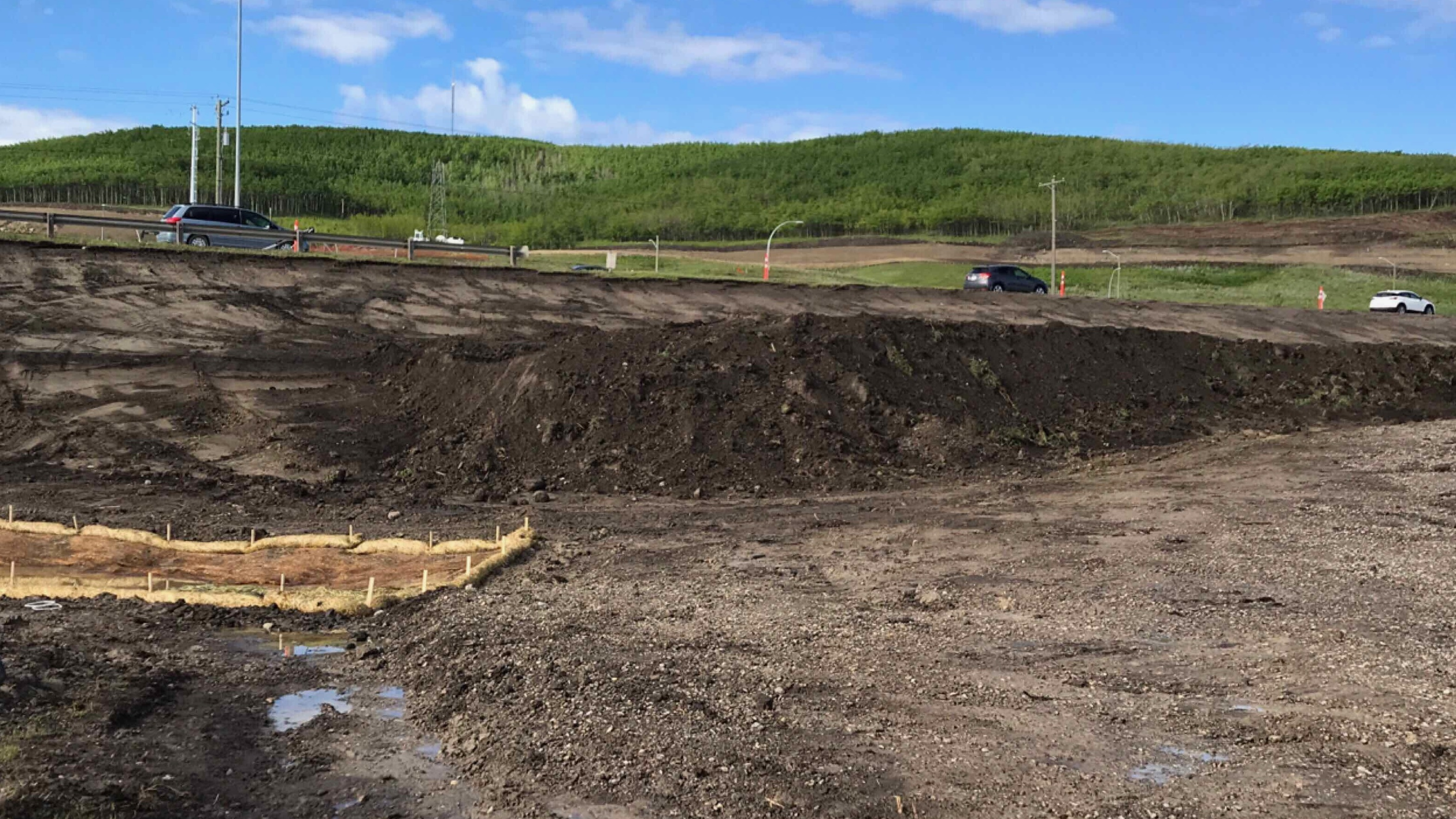 TCH topsoil stripped