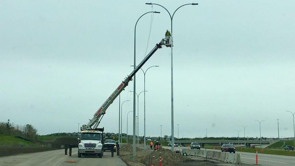 Powering new street lights