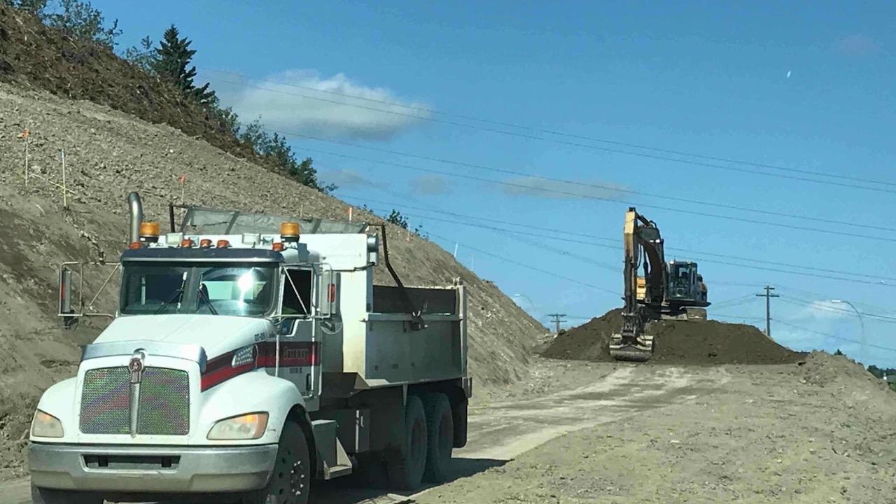 Crestmont loading tandem trucks