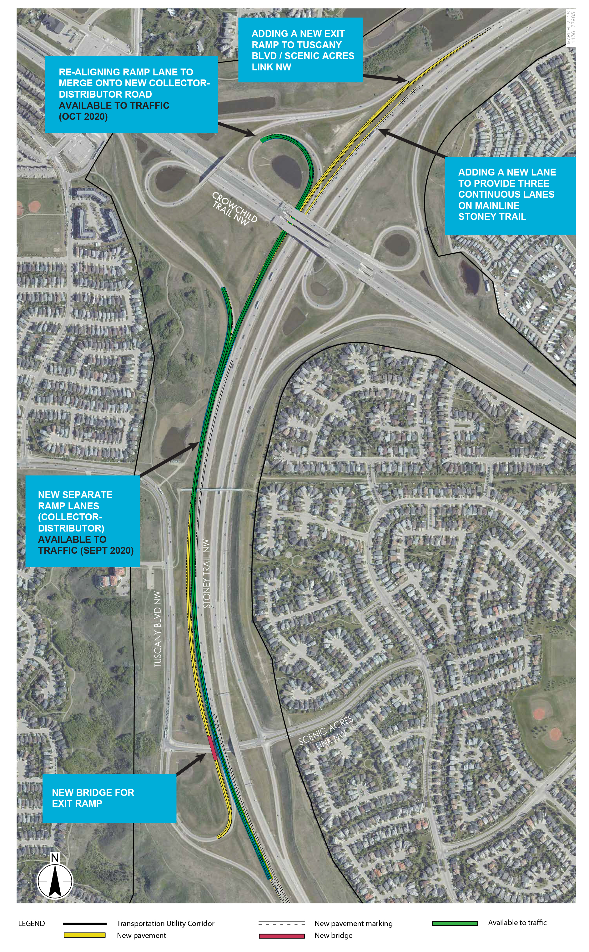 Stoney Trail widening plans