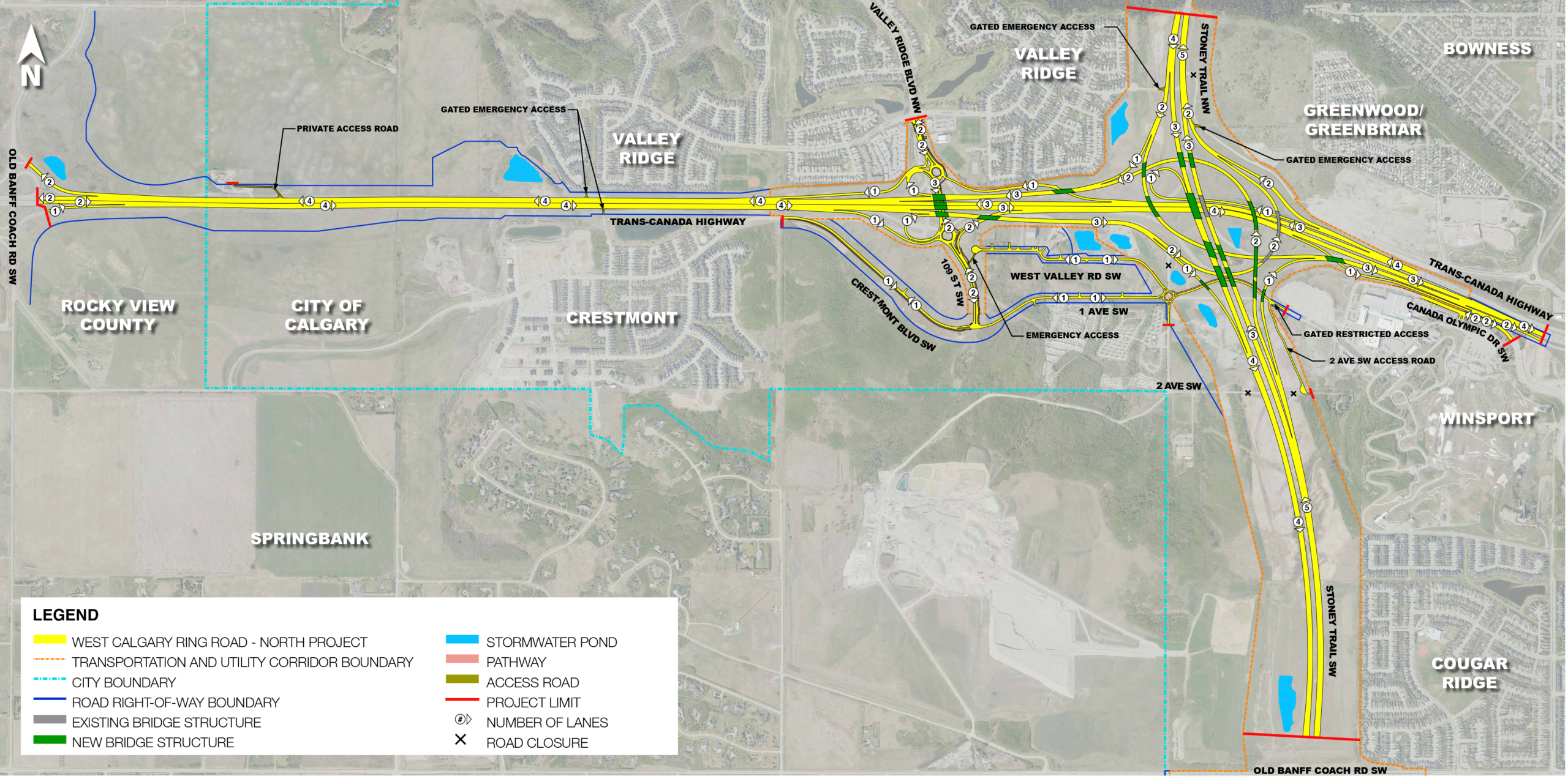 WCRR North Project Overall Plan