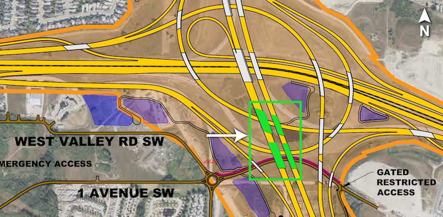 Key map of quad bridges