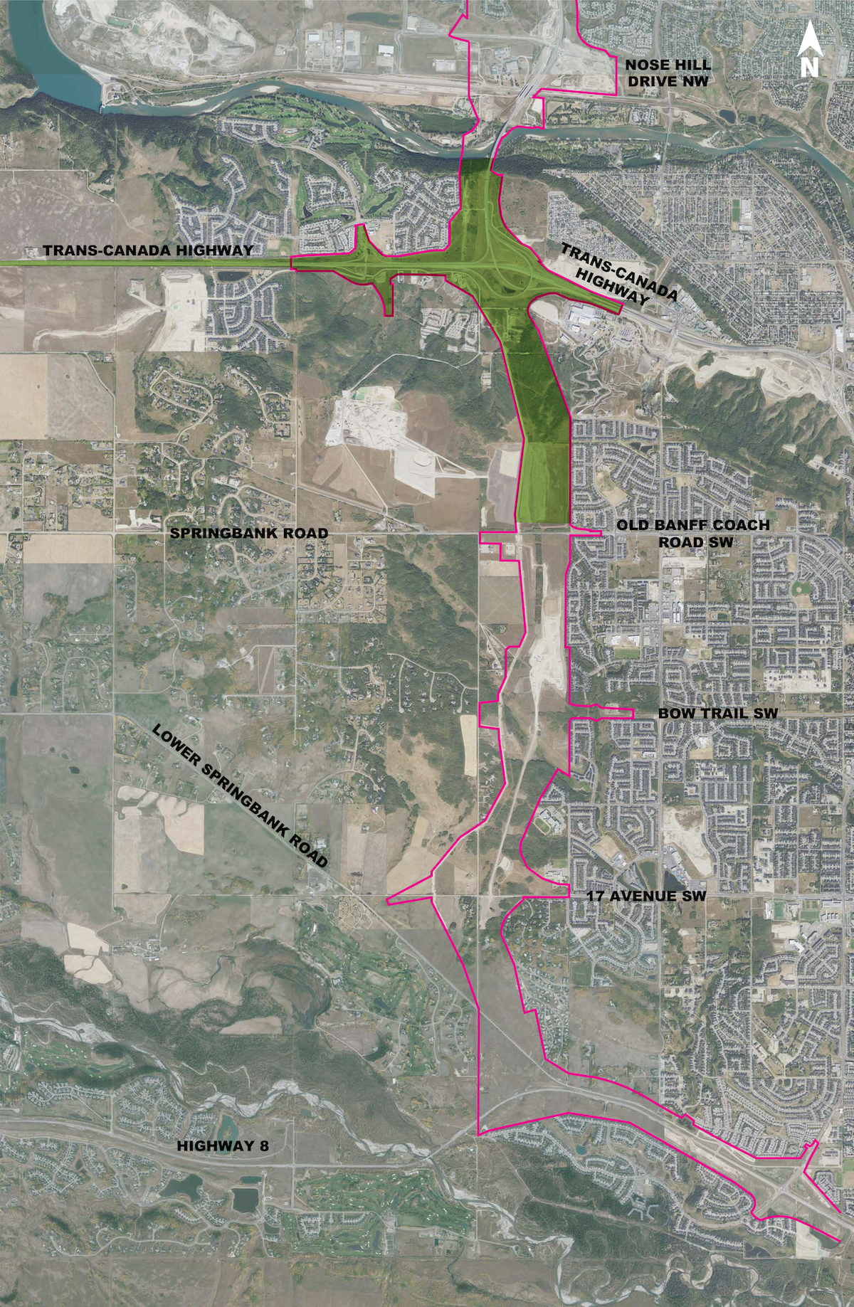 WCRR Overall Plan - North Project