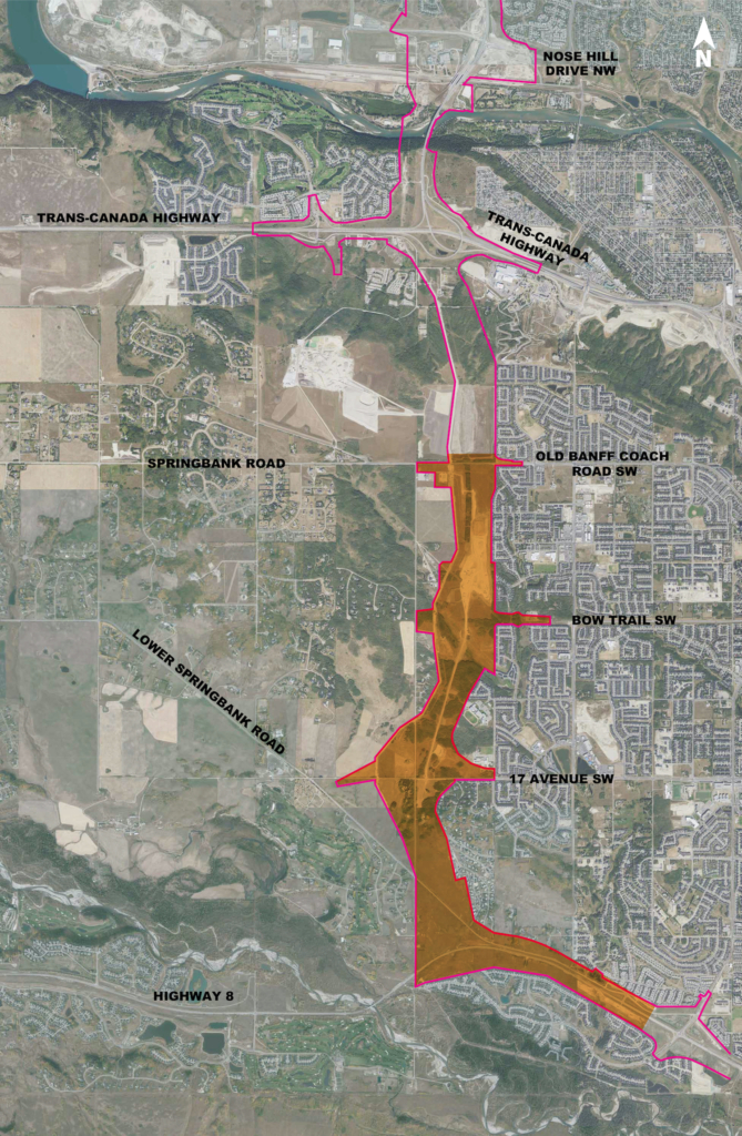 South Project overall map
