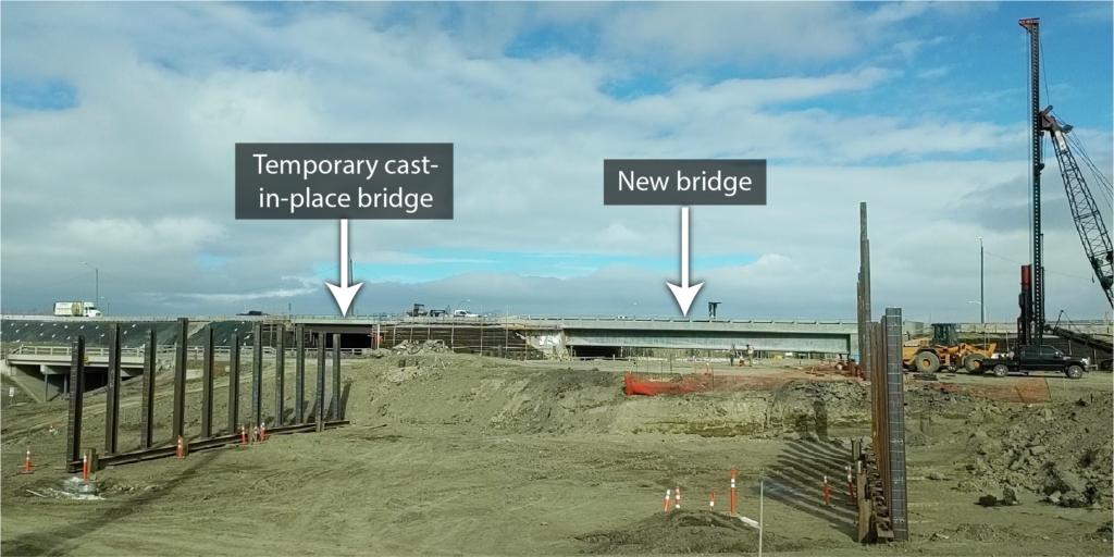 Piles for new bridges