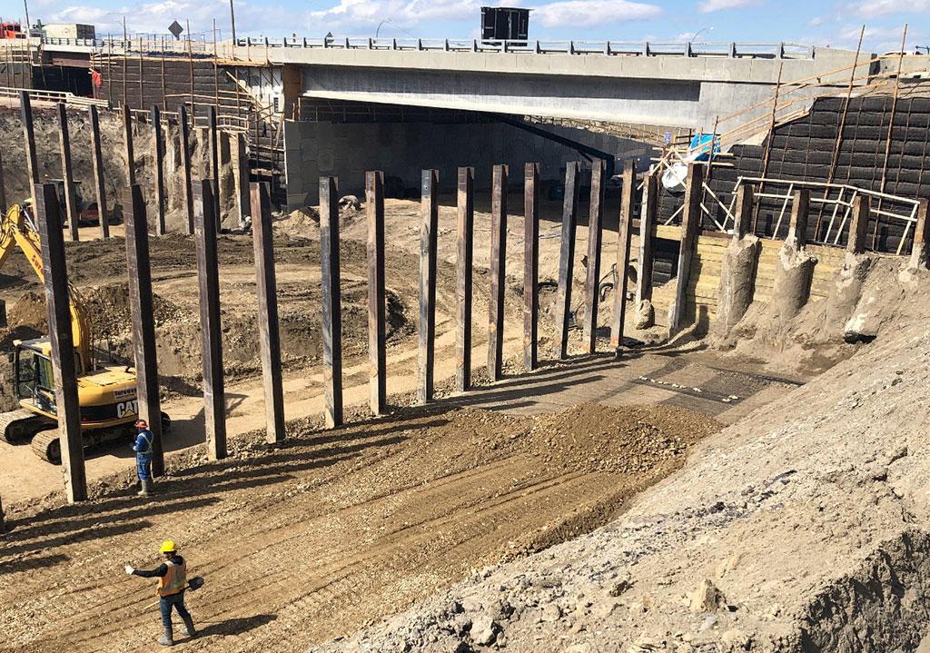piles excavation