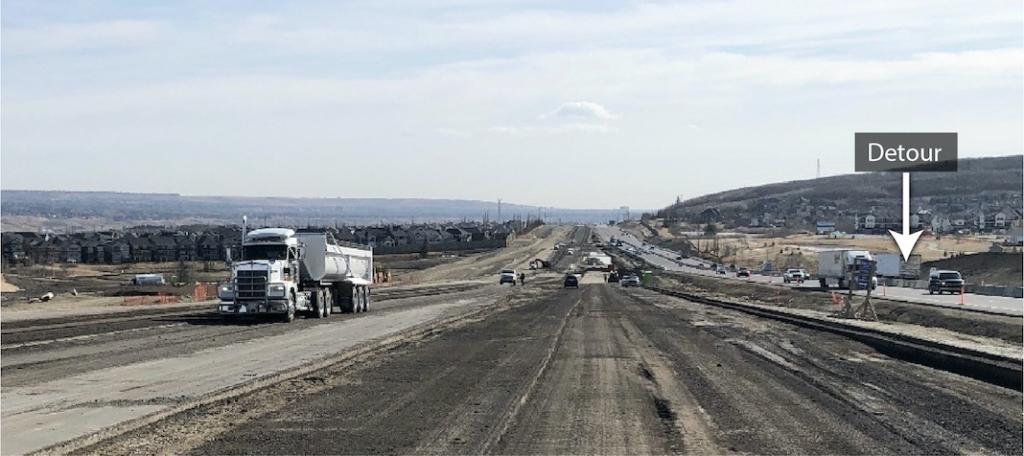 Milling existing asphalt