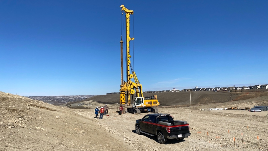 Drilling for CSP installation