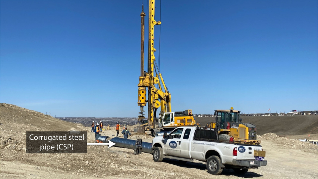 CSP drilling